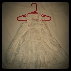 White Old Navy Dress 12-18M  3/$15